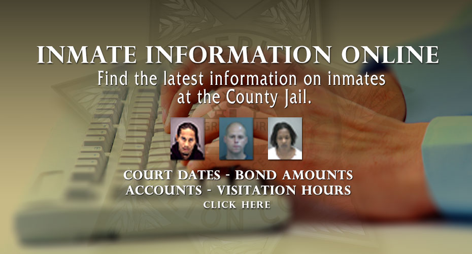 Inmate Information Online