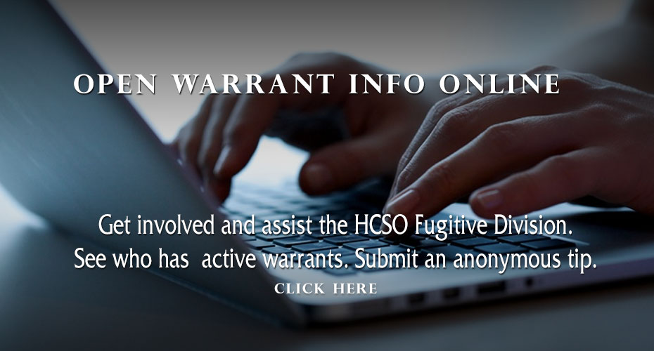 Open Warrants Information Online